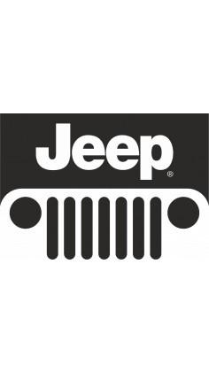 Jeep Logo Sticker Free Vector Jeep Decals Logo Sticker Jeep