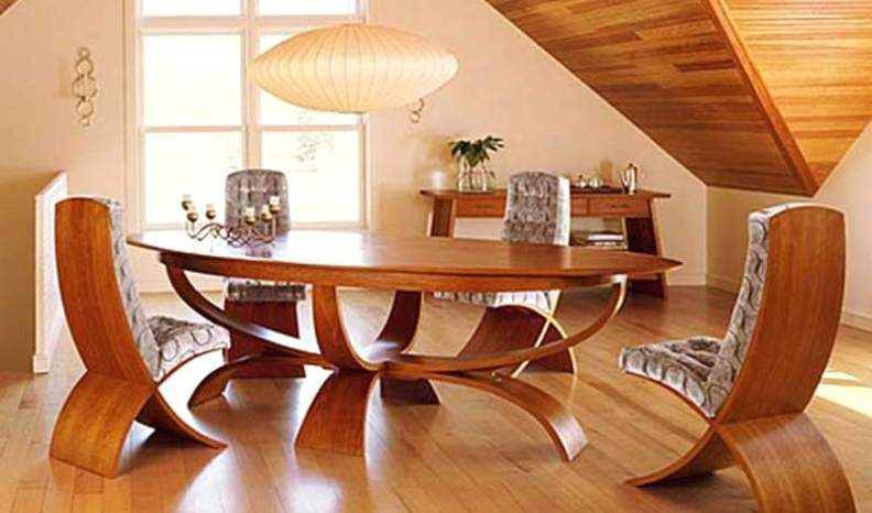 45 Ideas Cool Dining Table Modern Design In Your Kitchen Unique Dining Room Unique Dining Room Table Wooden Dining Room Table