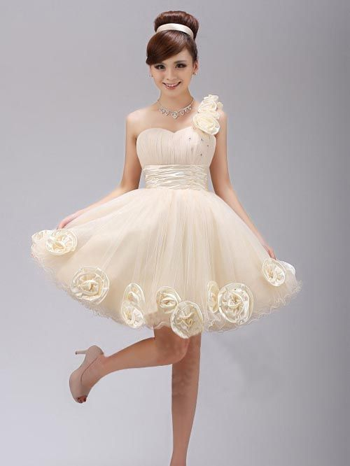 Stand-out White Korean Dress | Things to Wear | Pinterest ...