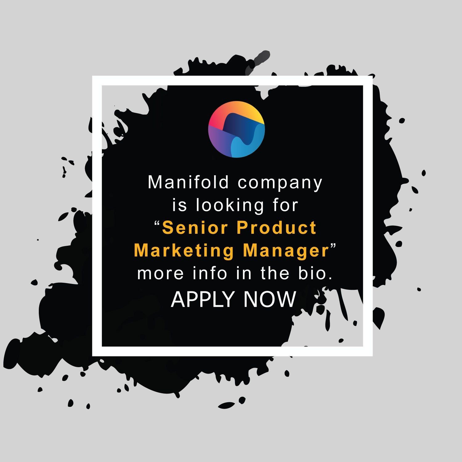New Remote job opening from Manifold Remote jobs, Online