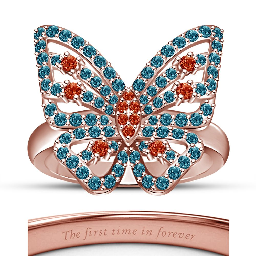 14K Rose Gold Plated Excellent Disney Princess Merida