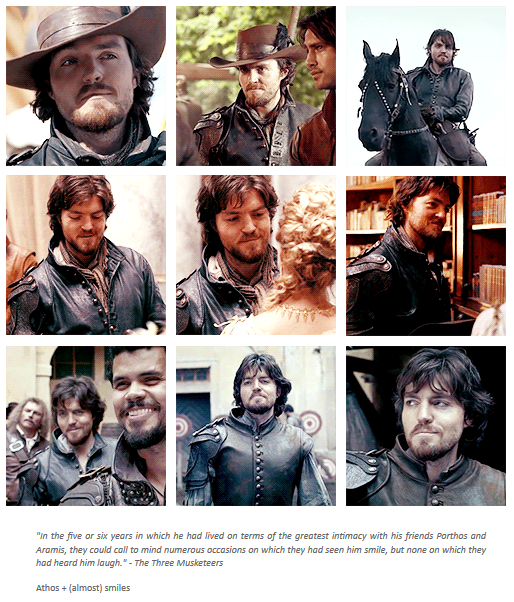 Super rare (and outstanding) similes from Athos