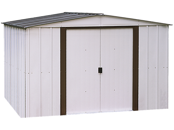 Newburgh Steel Storage Shed 10 Ft X 8 Ft With Images Steel Storage Sheds Storage Shed Shed