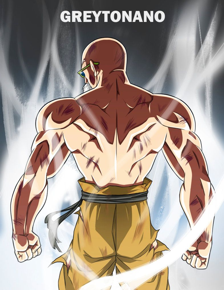 Master Roshi Limit Breaker By Greytonano Dragon Ball Super Goku Dragon Ball Artwork Dragon Ball Art