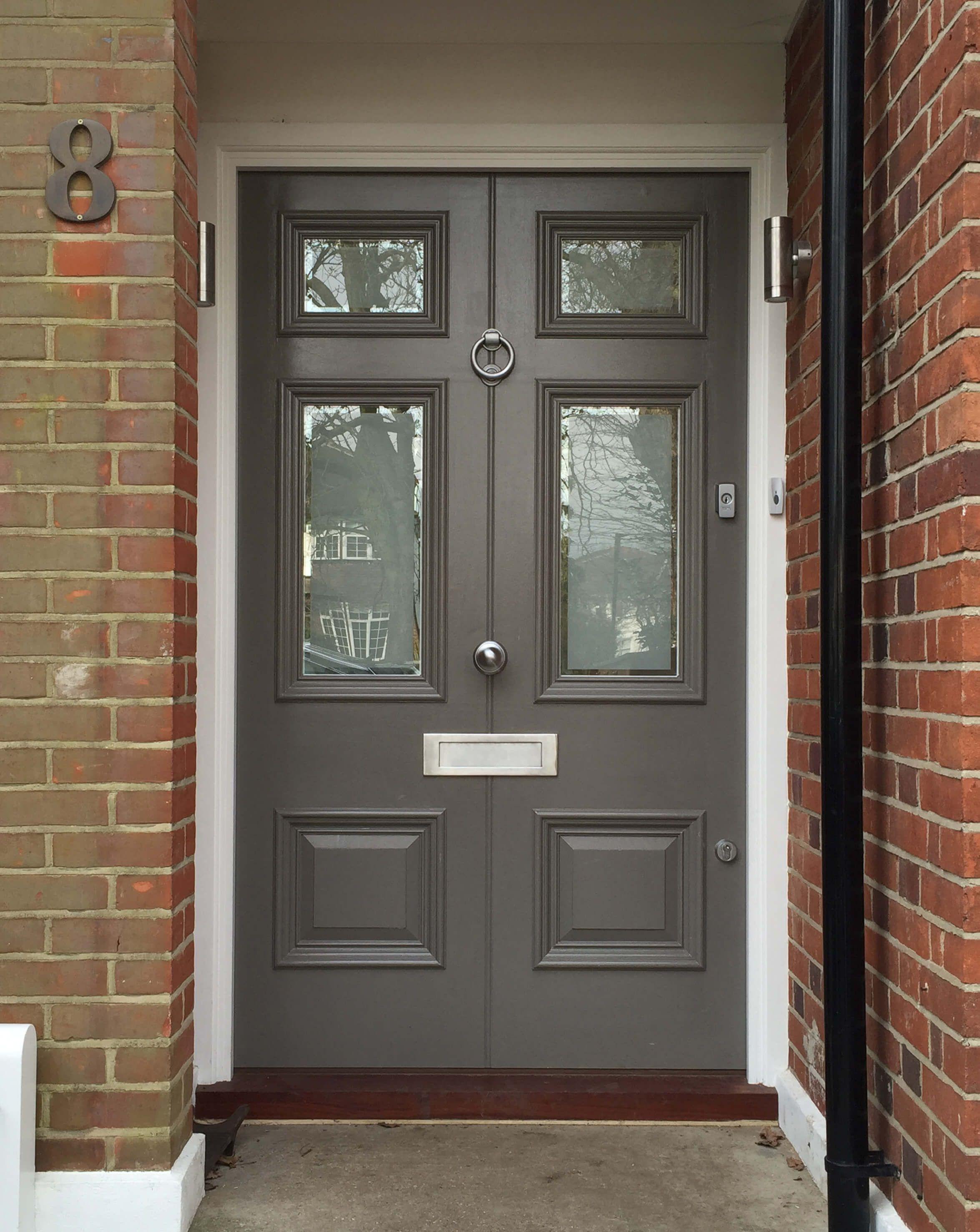 Victorian Double Front Door In 2019