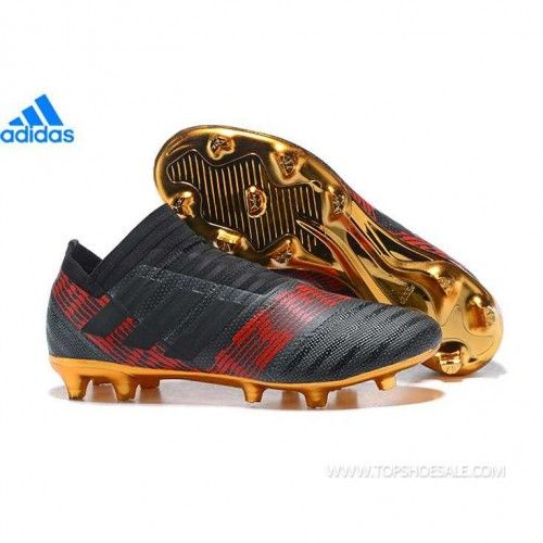 55e54ad66b44 adidas Nemeziz 17+ 360 Agility FG BB6317 MENS Core Black/Core Black/Solar  Red SALE FOOTBALLSHOES