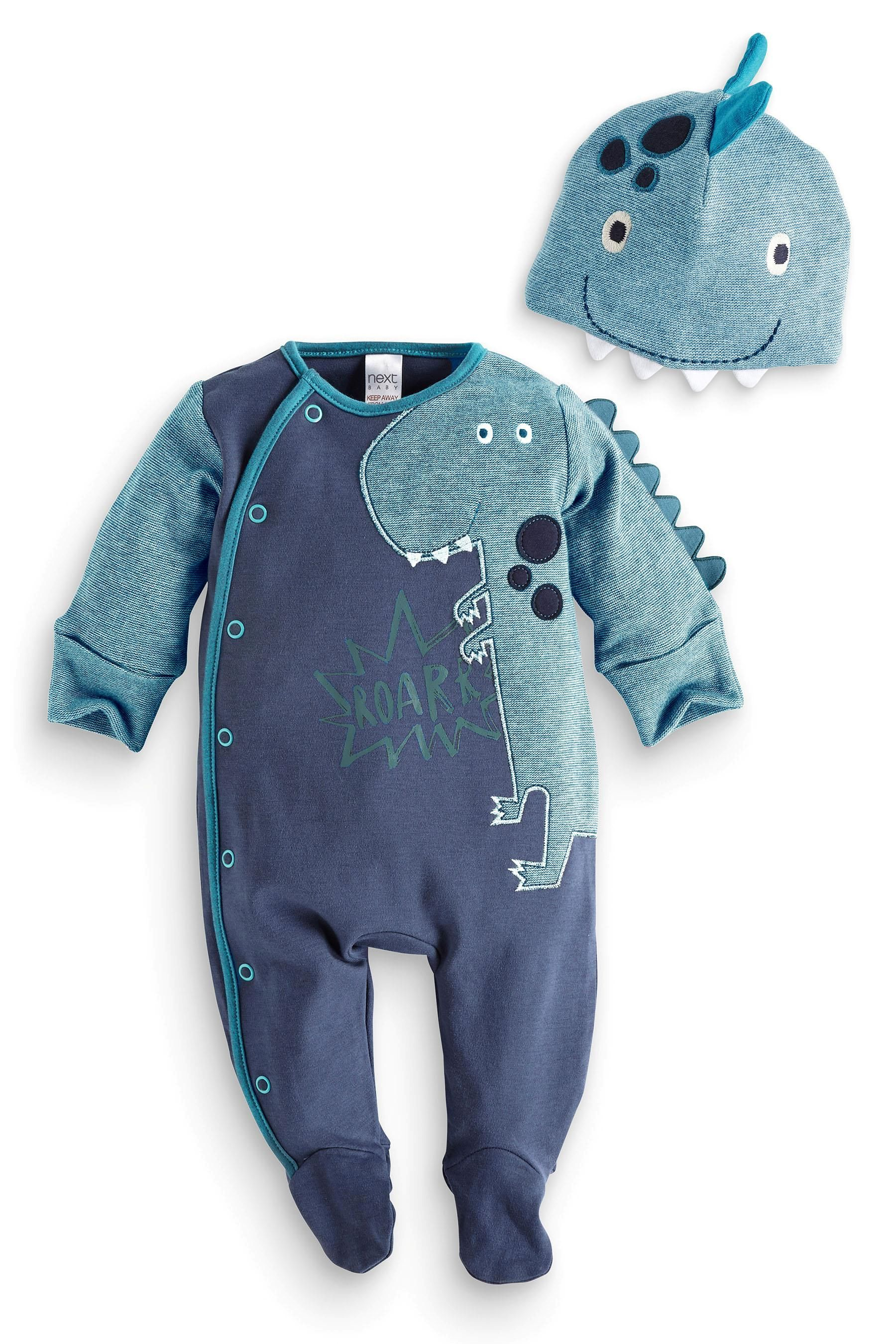 Buy Dino Dress Up With Hat 0mths 2yrs from the Next UK online shop