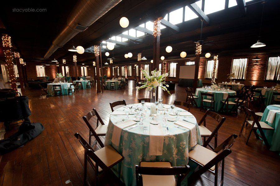 Love the dark chairs! Wedding venues indianapolis