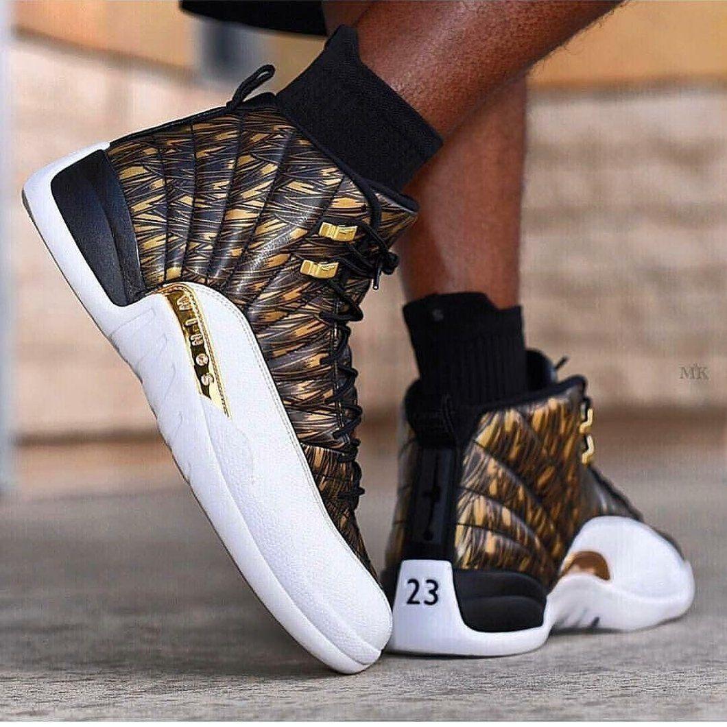 Retro 12 Gold Wings | Jordan shoes