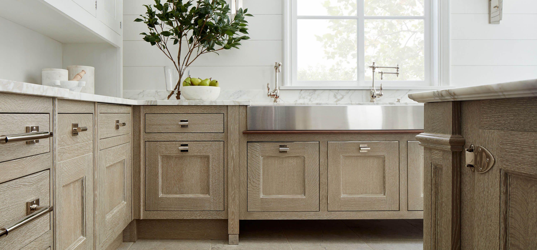 O Brien Harris Kitchen Cerused Oak Wood Finish Cabinets Cerused Oak Kitchen Kitchen Remodel Kitchen Redo