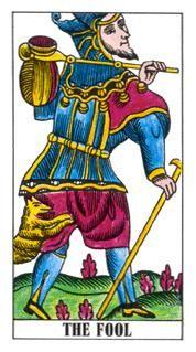 0. The Fool: Classic Tarot