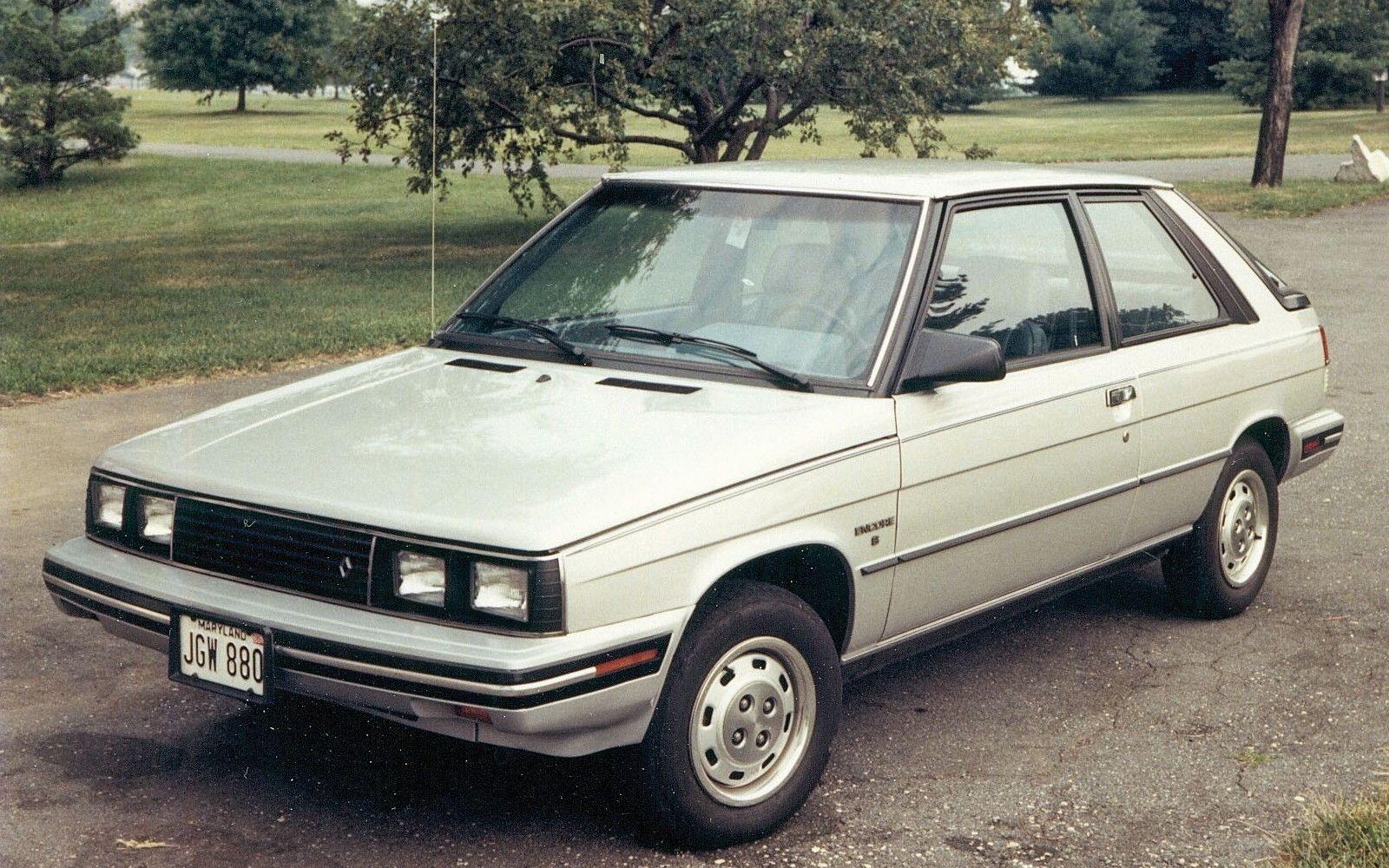 Pin by Lon Sullivan on Cars: Renault Alliance/Encore | Pinterest ...