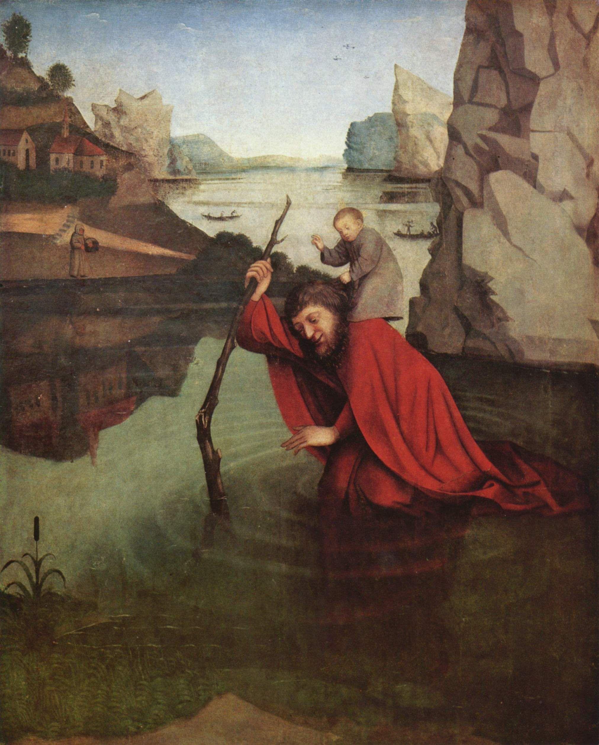 Religious Art: Saint Christopher