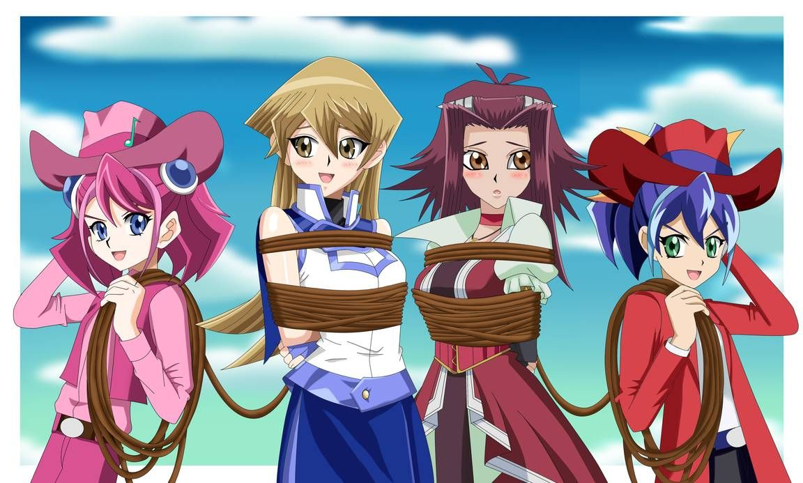 .: YGO Girls Ribboned : Tag Force Special :. by