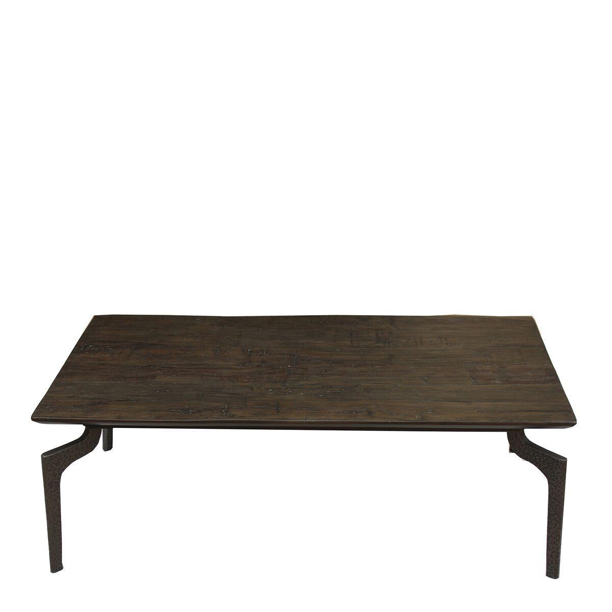 Side Table Donker Hout.Nordal Salontafel Wooden Bruin Hout 40 X 120 X 70 Huis