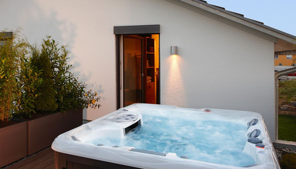 dachterrasse mit whirlpool terrassen pinterest. Black Bedroom Furniture Sets. Home Design Ideas