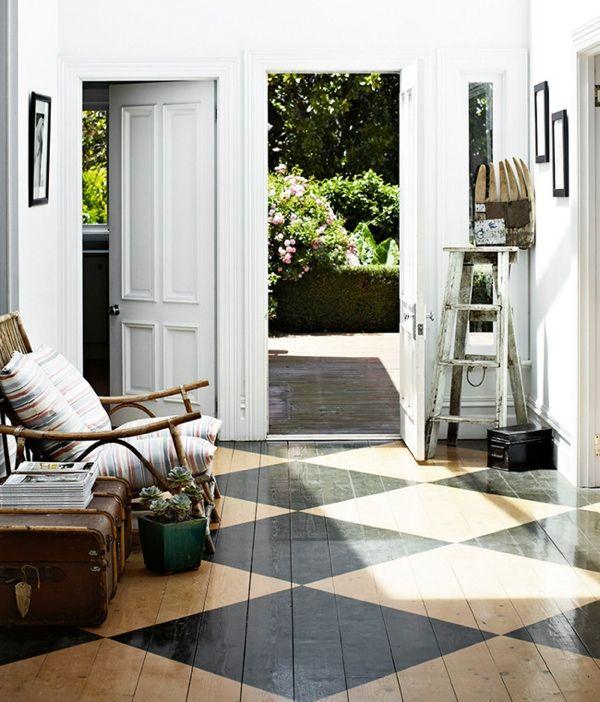 inspirations sol damier d co maison pinterest maison parquet et deco. Black Bedroom Furniture Sets. Home Design Ideas