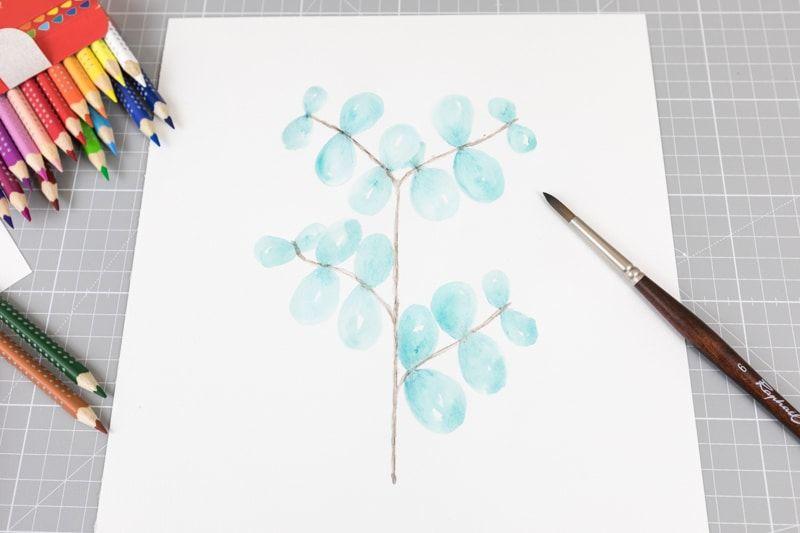 Eukalyptus Let Love Grow Reisen Mit Kindern Lettering Und