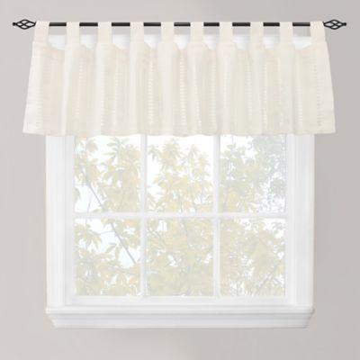 Merveilleux Park B. Smith Eyelet Tab Top Window Valance In Ivory   BedBathandBeyond.com