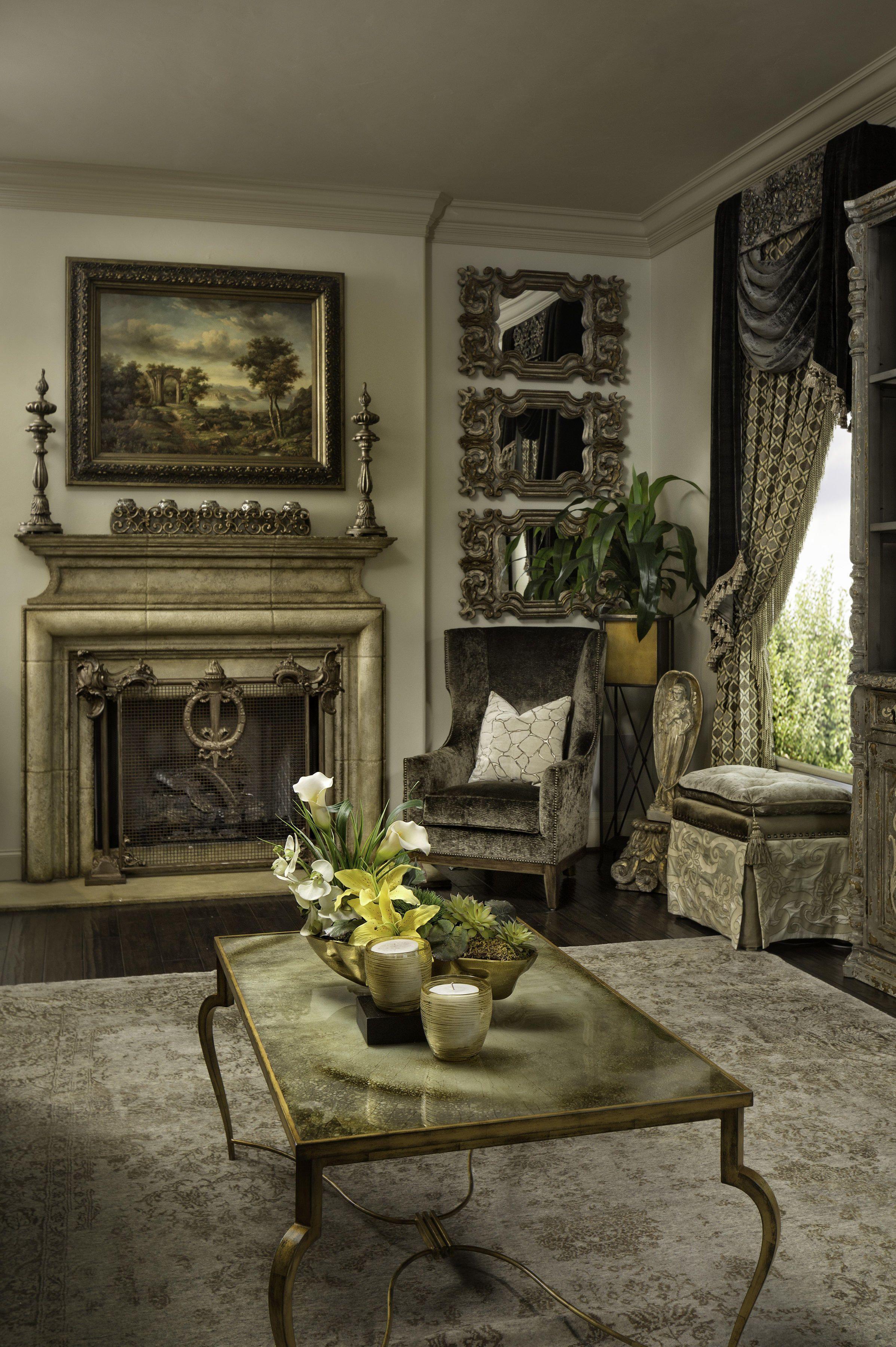 Luxury Town Home Interior Designers Fort Worth Texas Grandeur