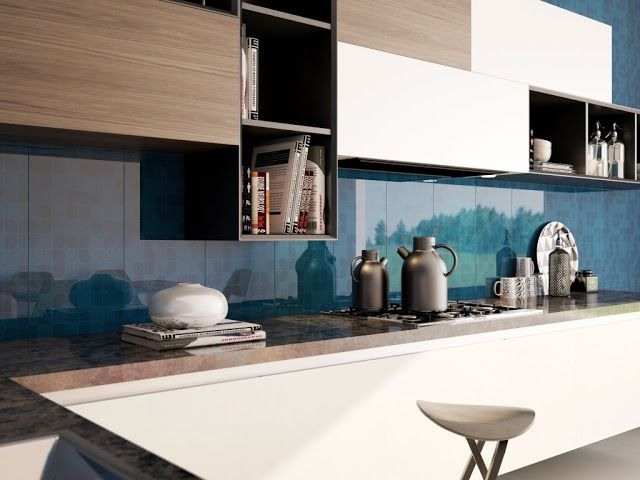 materiales-para-la-pared-de-la-cocina-interceramic | cocina | Pinterest