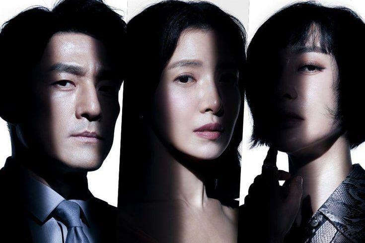 New tvN Drama Promises Thrilling Suspense In Posters Starring Ji Jin Hee, Yoon Se Ah, And Kim Hye Eun