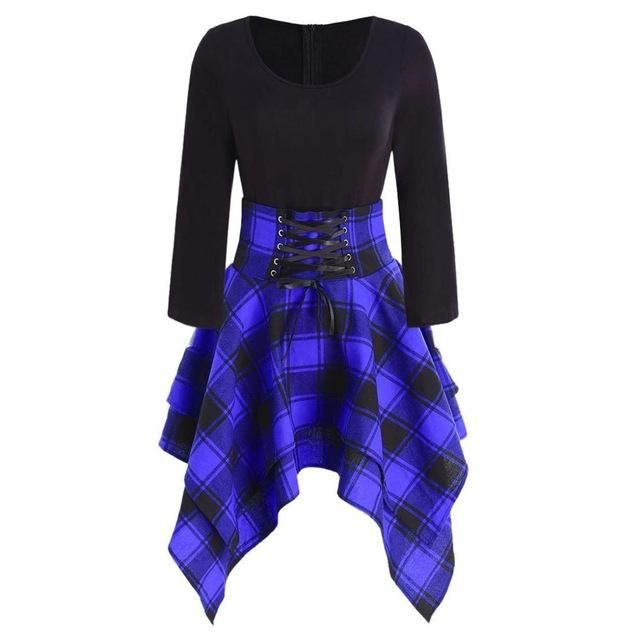 The Tartan Corset Dress The Tartan Corset Dress –