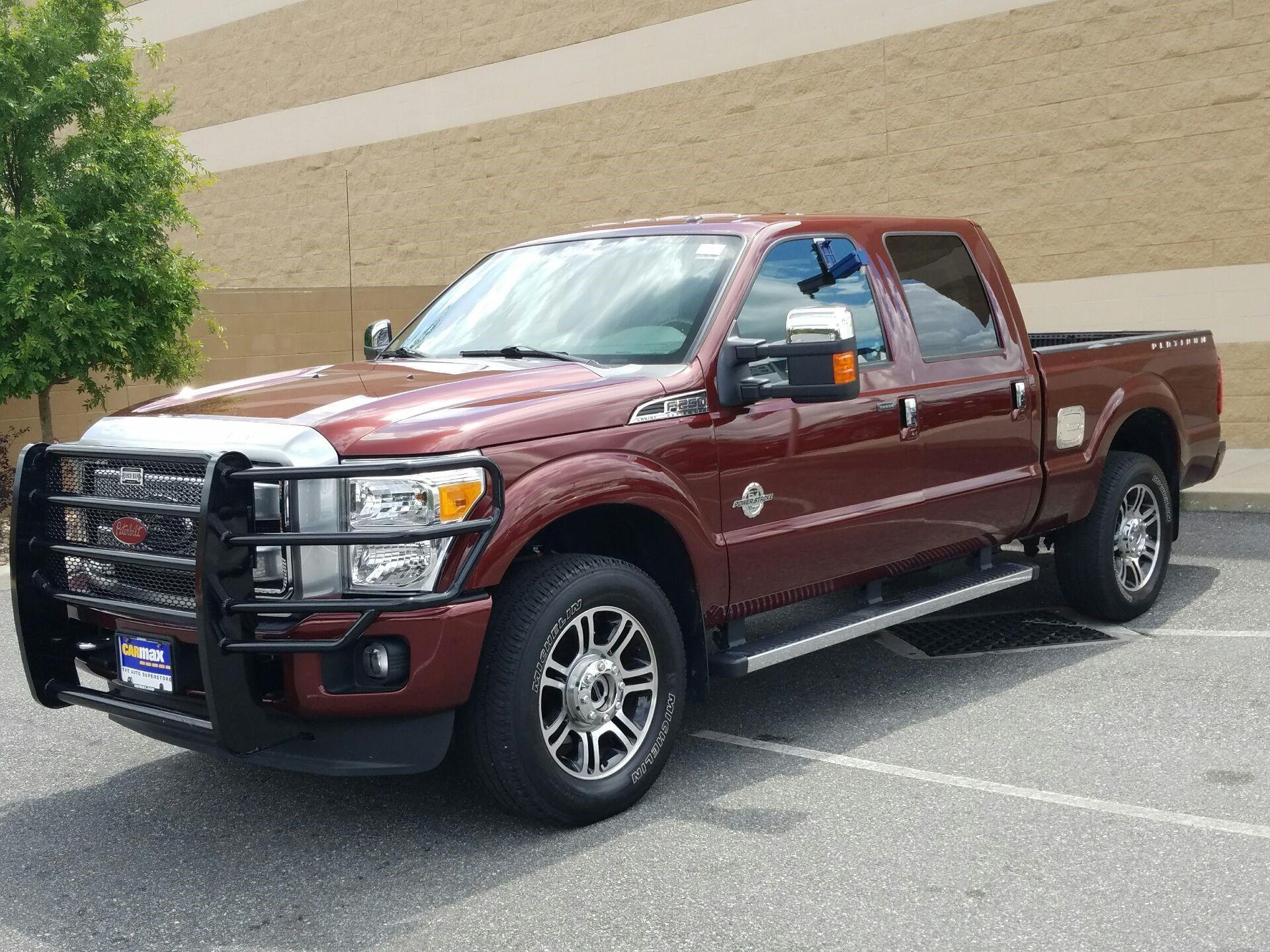 used 2015 ford f250 in fredericksburg virginia carmax cars rh in pinterest com