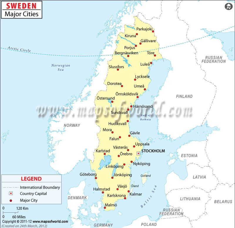 Map Of Sweden Cities Google Search MAPS Pinterest Sweden - Sweden big map