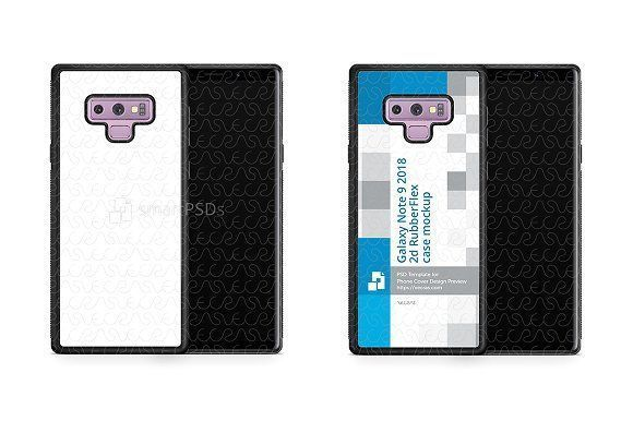 Samsung Galaxy Note 9 2d RubberFlex by VecRas on @creativemarket