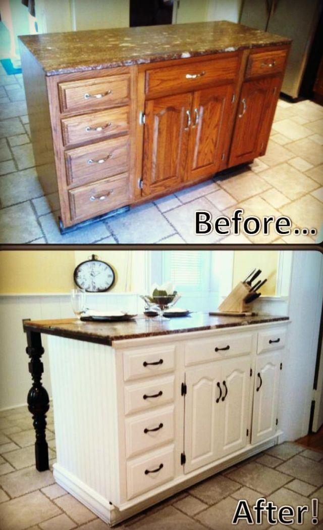 Fabriquer Un Ilot De Cuisine 35 Idees De Design Creatives Diy Kitchen Diy Furniture Home Diy