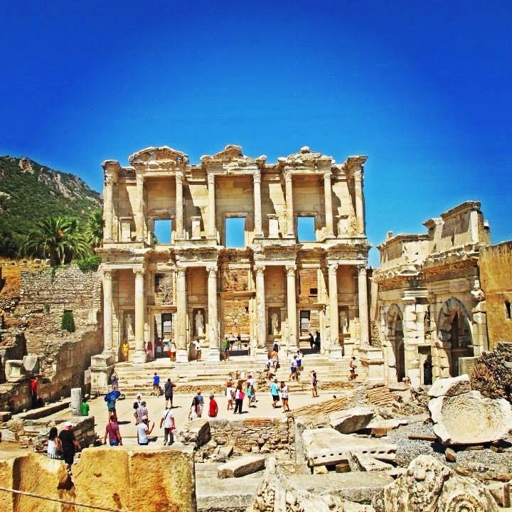 My favorite structure in #Ephesus is the Library of Celsus  Izmir turkey