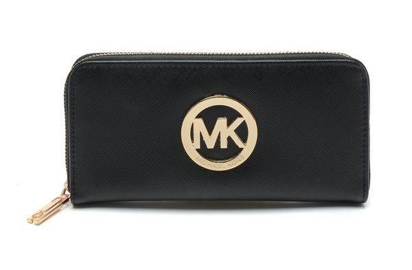 michael kors lommebok svart