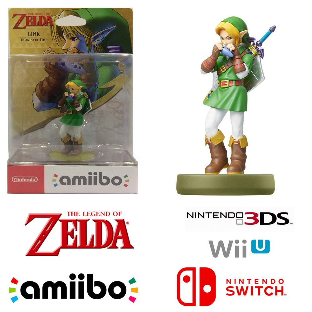 Link The Legend Of Zelda Ocarina Of Time Rare Character
