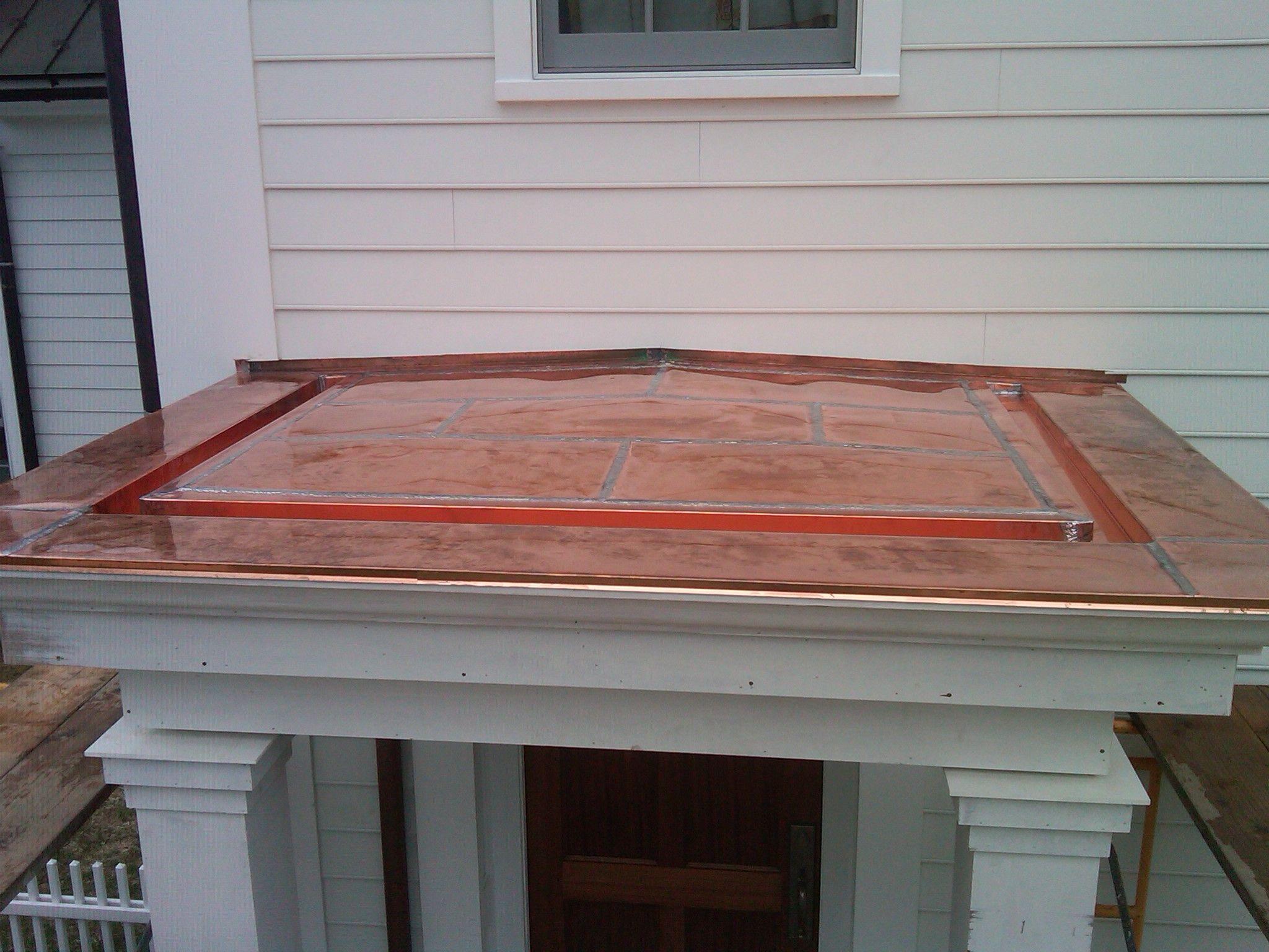 Stanfordville Flat Seam Copper Roof New Dimension Construction Copper Roof Roof Copper