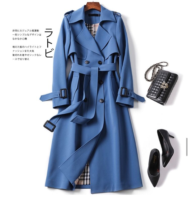Photo of 2019 New Spring Coat Women Trench coat Fashion Double Breasted High quality Long Coats Casual Autumn Windbreaker Yttertøy | www.minogdin.com