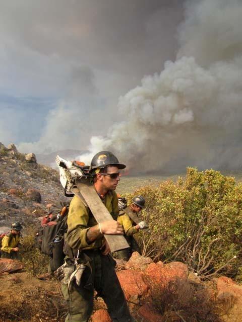 Granite Mountain Hotshot Wildland Firefighter Fire Photography Forest Firefighter