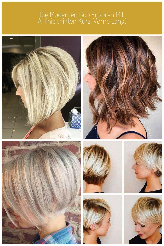 Die Modernen Bob Frisuren Mit A Linie Hinten Kurz Vorne Lang Dekoration Haus Kurze Haarschnitte Blond Die Moderne Haarschnitt Kurz Bob Frisur Haarschnitt