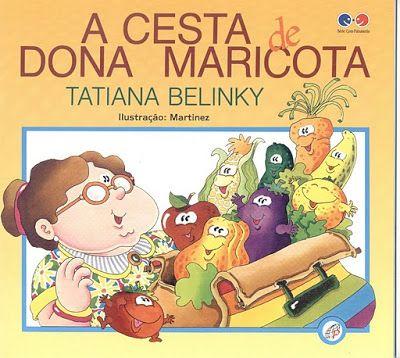 Historia A Cesta De Dona Maricota Livros De Literatura