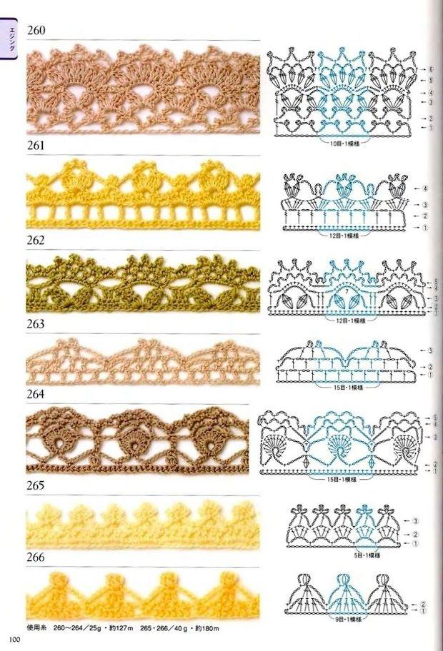 300 crochet patterns book - motifs,edgings - 2006 - Lita Zeta ...