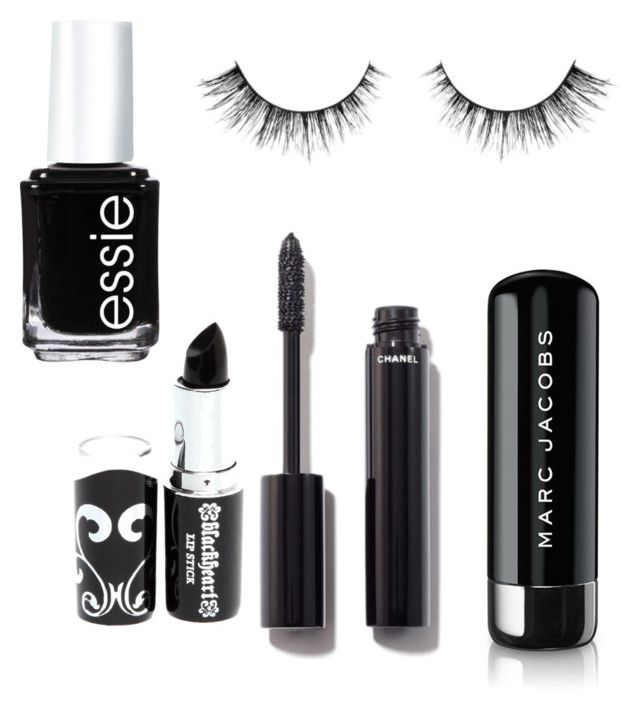 """""""Untitled #18"""" by danielafigueroa012 on Polyvore featuring beauty, Chanel, Essie and Marc Jacobs"""