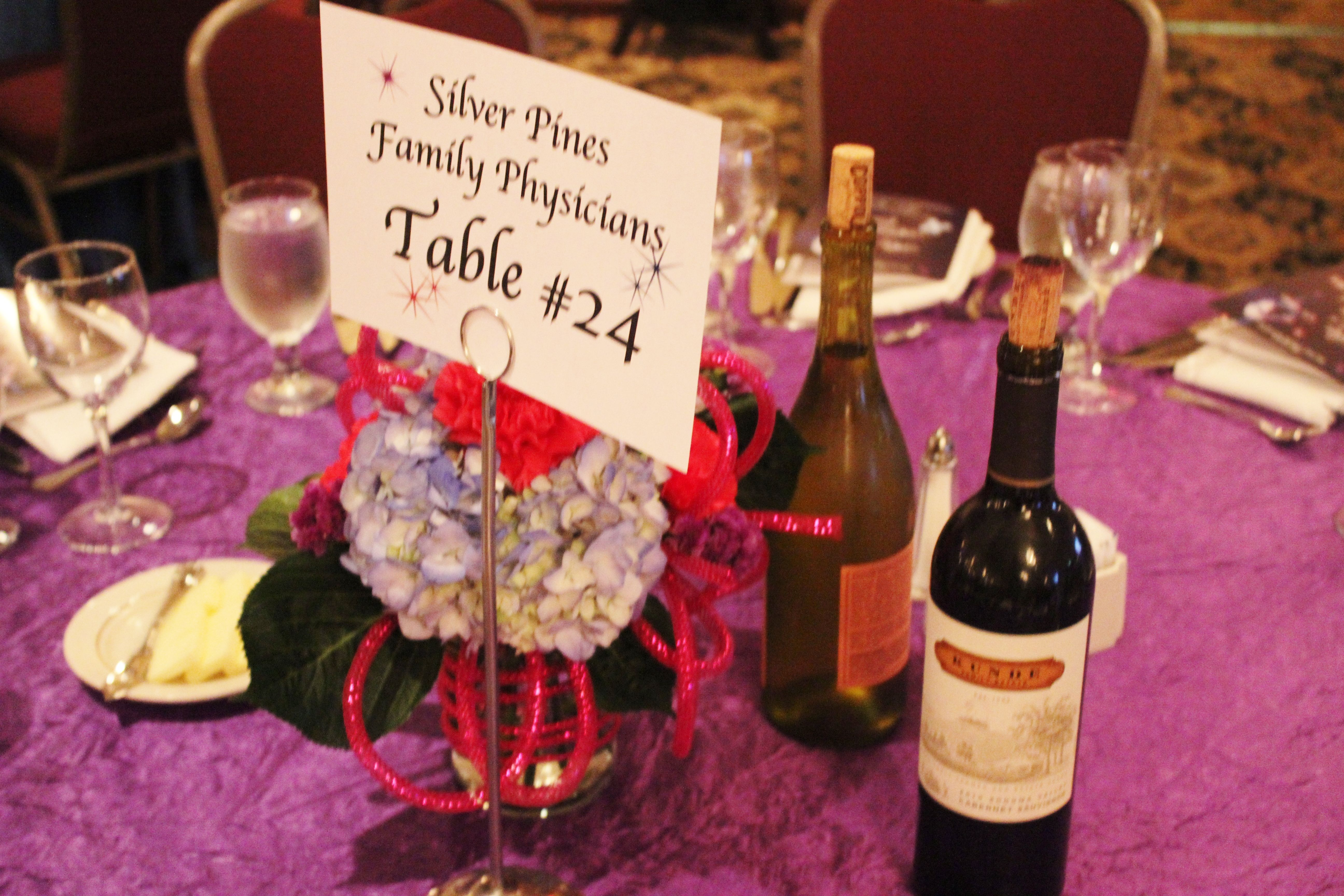 Flower Centerpieces And Wine Selection For Dinner Wine Selection Wine Bottle Wine