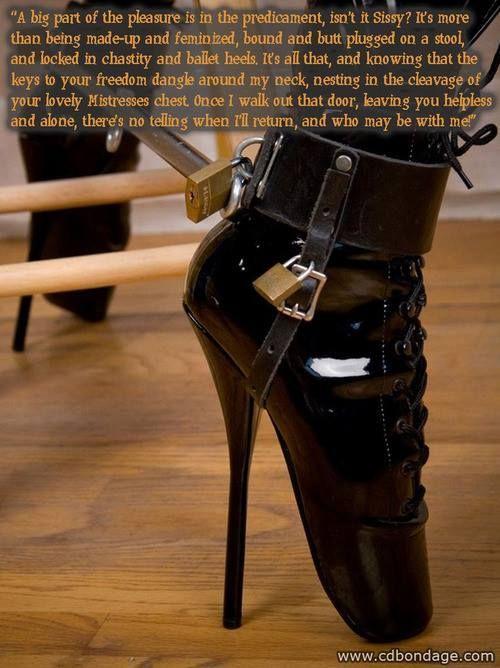 Locking High Heel Shoe Stories