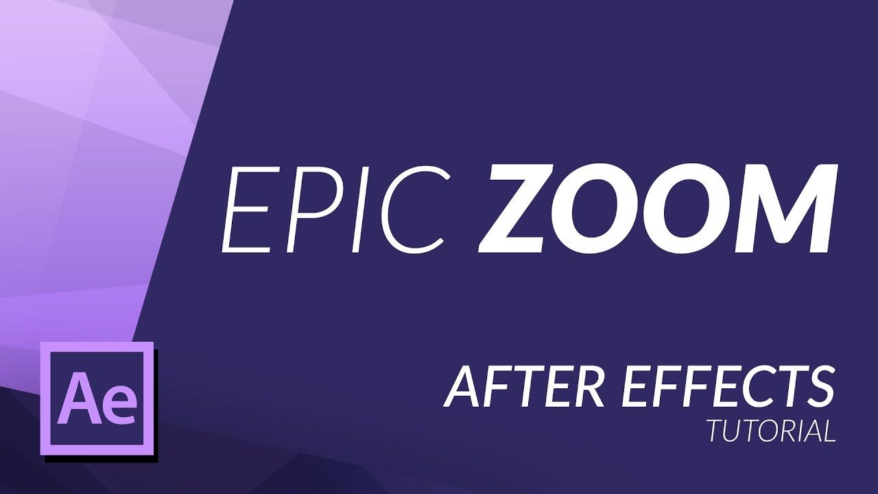 HOW TO CREATE AN EPIC ZOOM IN AFTER EFFECTS | Tutorial