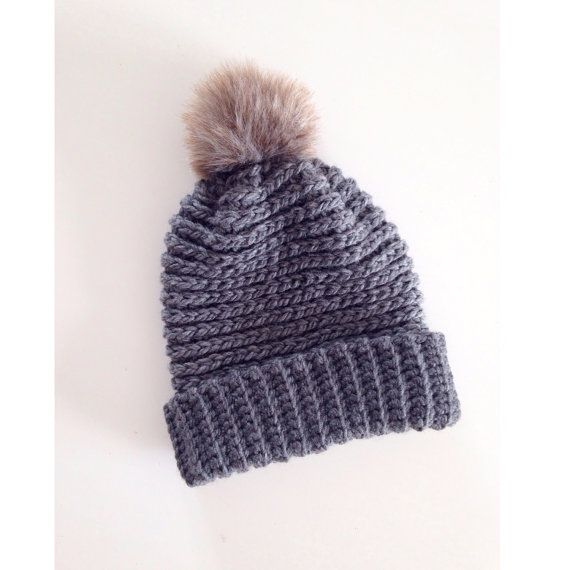 Slouchy Pompom Beanie PREORDER SALE PRICE Adult by LoopsForDays