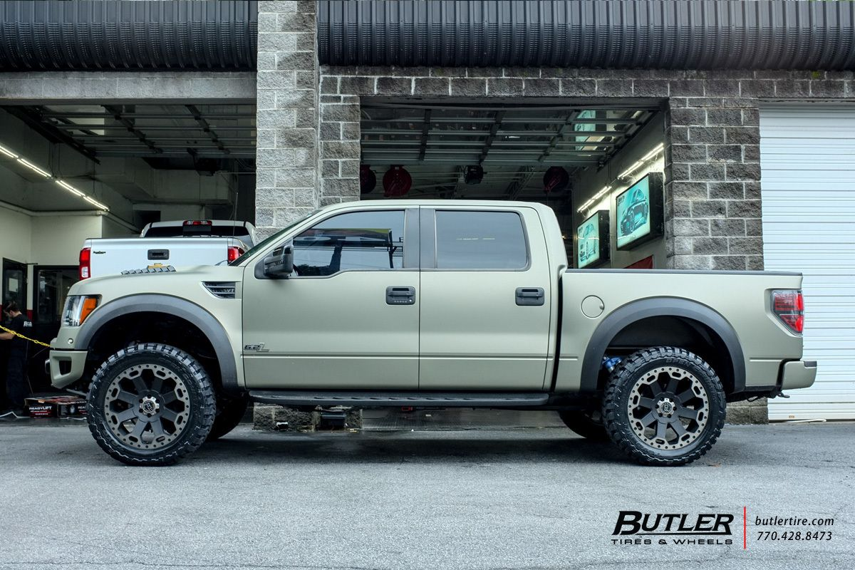 Ford Raptor With 22in Black Rhino Warlord Wheels With Images