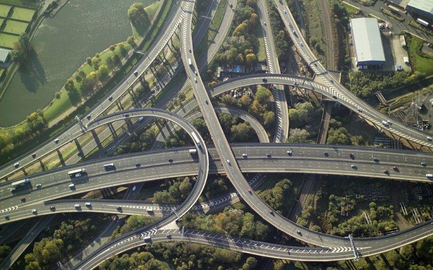 Road Junction Spaghetti