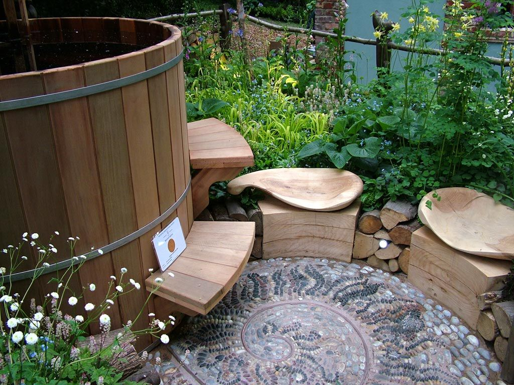 wooden hot tub | garden / roof deck | pinterest | hot tubs, tubs