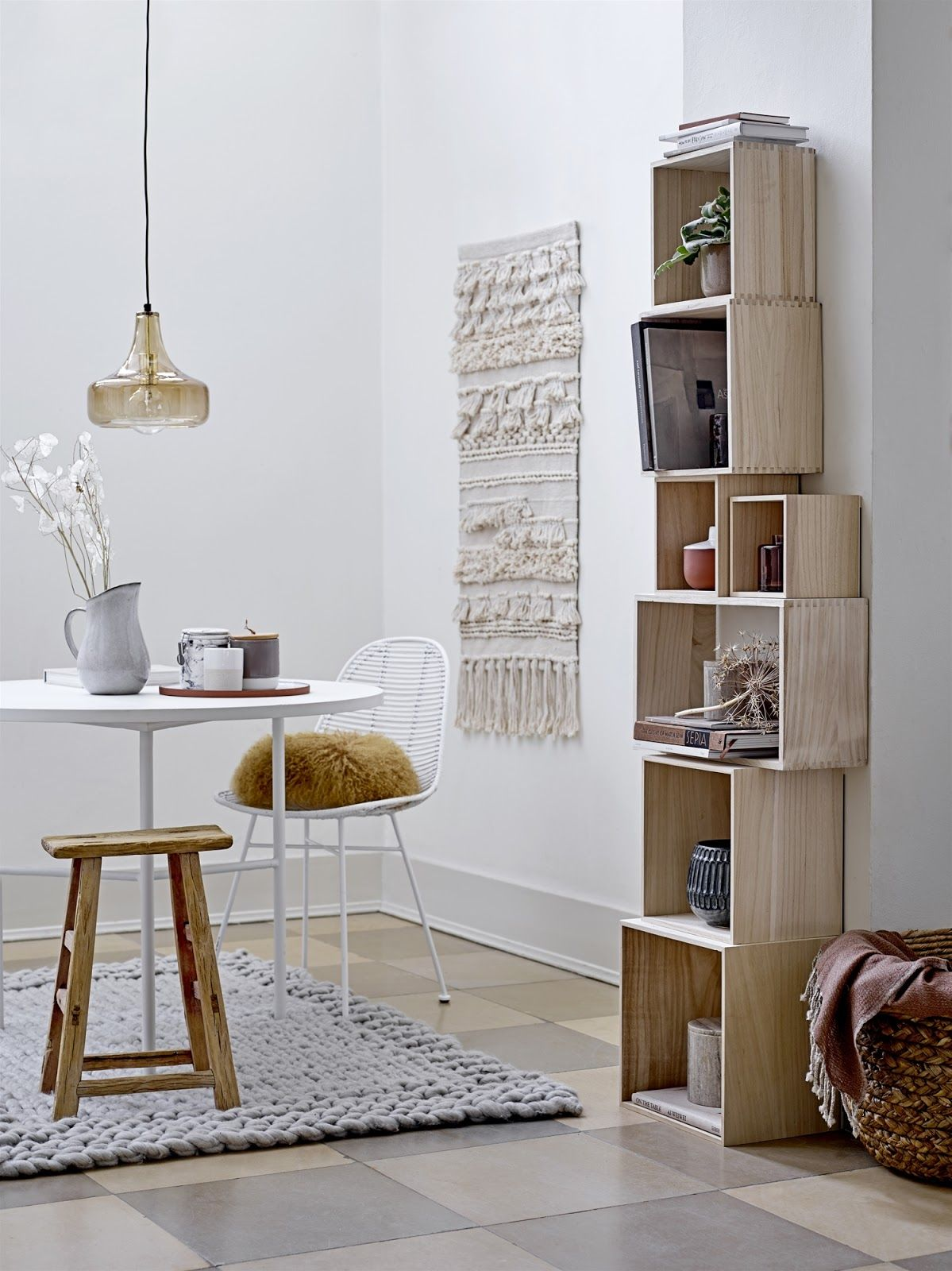 skandinavische einrichtung jede menge inspiration von der dnischen marke bloomingville rattan makramee - Skandinavische Design Sthle