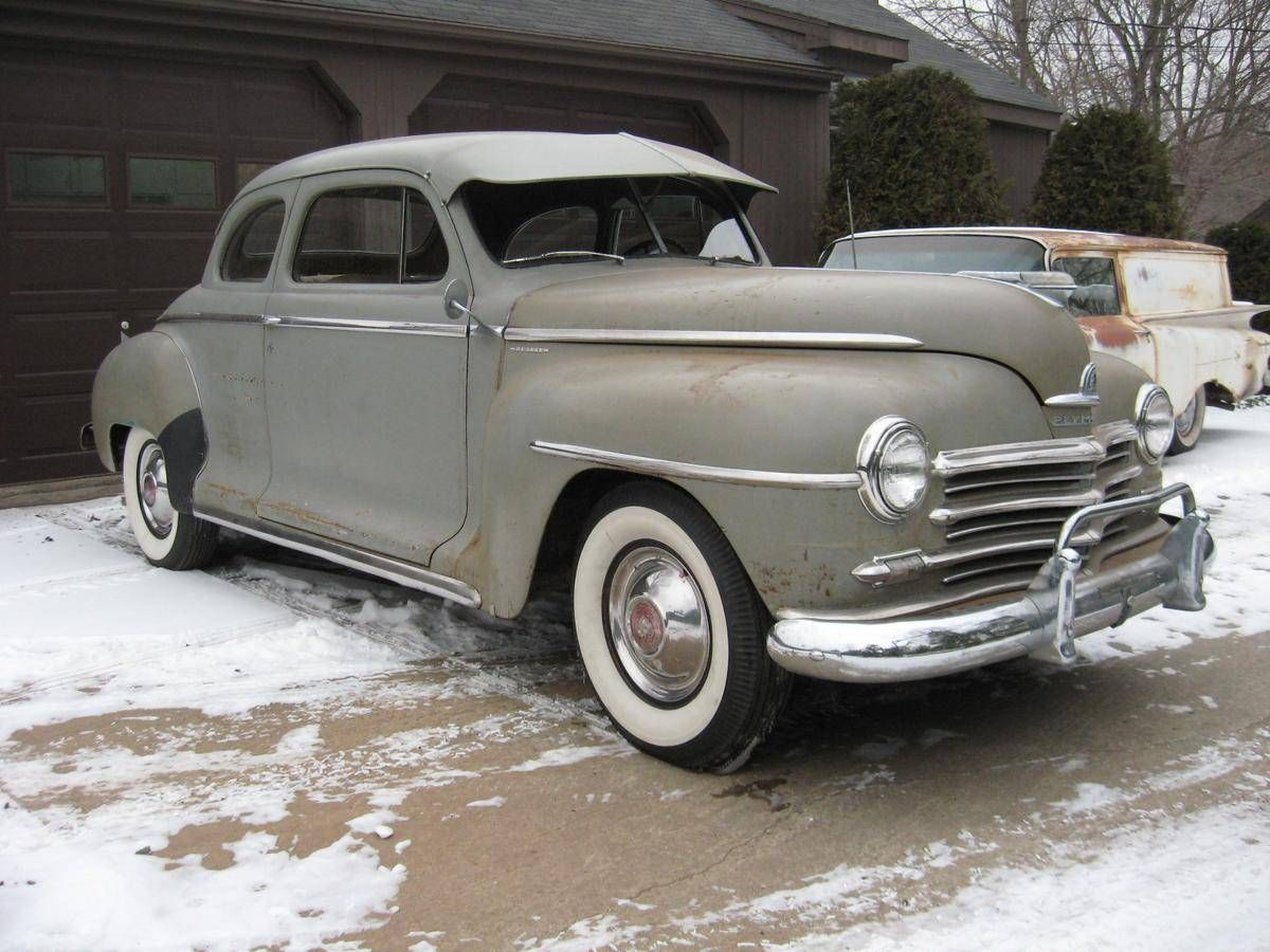 1948 Plymouth Special Deluxe Coupe Yank Tanks